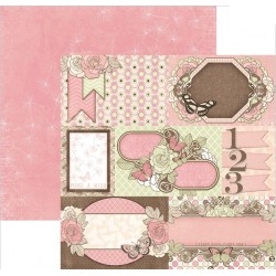 Papel Bobunny Primrose - Breath Taking 30.5 x 30.5 cm