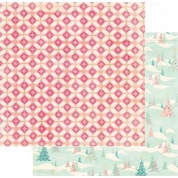 Papel Bobunny Candy Cane Lane - Sleigh Ride 30.5 x 30.5 cm