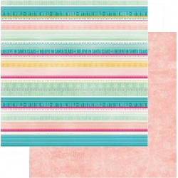 Papel Bobunny Candy Cane Lane - Jolly 30.5 x 30.5