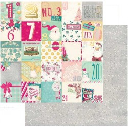 Papel Bobunny Candy Cane Lane - Countdown 30.5 x 30.5 cm