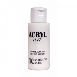 Barniz Acrilico Satinado 60ml. Acyl-Art