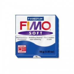 Fimo Soft 56gr Azul Brillante -33-
