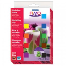 Fimo 12 Soft Packs 300 gr.
