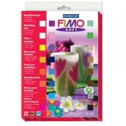 Fimo 24 Soft Packs 600 gr.