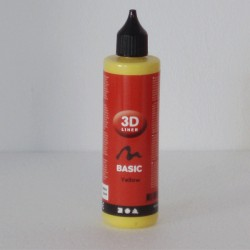 Pintura Relieve Line 3D Basico -Amarillo- 100 ml