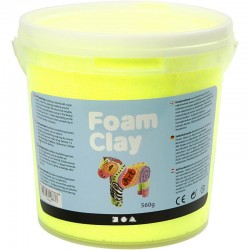 Foam Clay 560gr. - Neon Amarillo