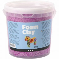 Foam Clay 560gr. - Neon Purpura