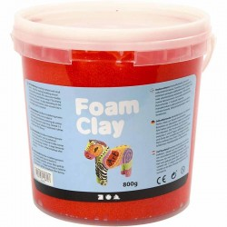Foam Clay 560gr. - Rojo