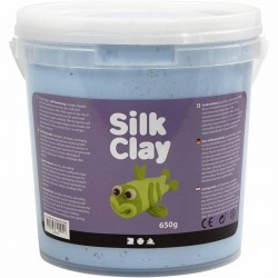 Silk Clay 650gr. - Neon Azul