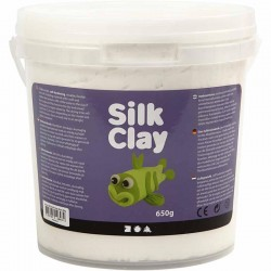 Silk Clay 650gr. - Blanco