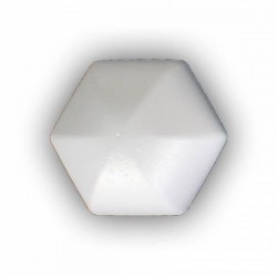Bola Hexagonal 120mm Porex-Corcho blanco