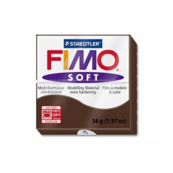 Fimo Soft 56gr Chocolate -75-