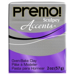 Premo Accents 56gr Blanco Brillante con Purpurina