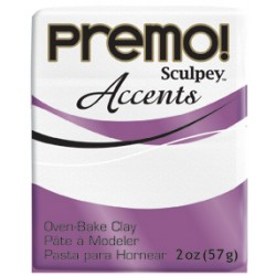 Premo 56gr Accents Blanco Purpurina -5057-