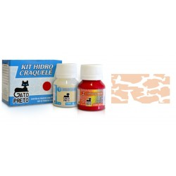 Kit Hidro Craquele 80ml - Nº655 Papaya