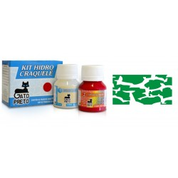 Kit Hidro Craquele 80ml - Nº633 Verde Imperial