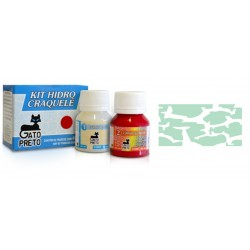 Kit Hidro Craquele 80ml - Nº631 Verde Monarca