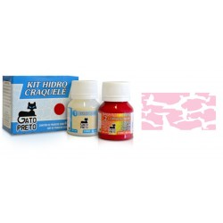 Kit Hidro Craquele 80ml - Nº616 Rosa Princesa