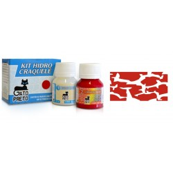 Kit Hidro Craquele 80ml - Nº613 Casis