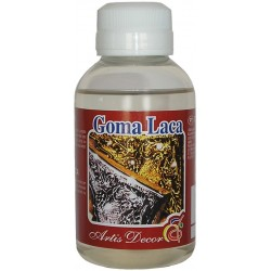 Goma Laca Incolora - Artis Decor 125ml.
