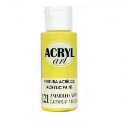 Pintura Acryl-Art 60ml - Amarillo Vivo