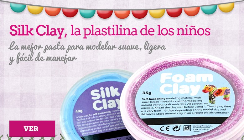 Silk Clay Pastelina